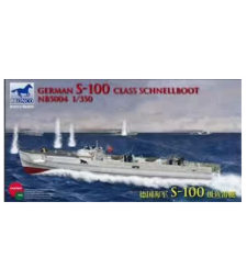1:350 German S-100 Class Schnellboot (Not available in Japan Market