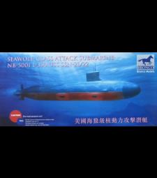 1:350 USS SSN-21/22 Seawolf-class  Attack submarine