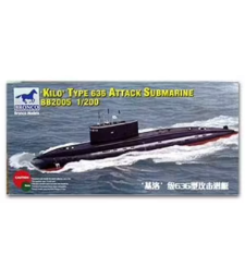 1:200 Kilo Type 636  Attack Submarine