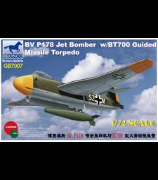 1:72 Blohm & Voss BV P178 Jet Bomber w/BT700 Guided Missile Tor