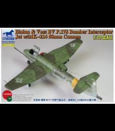 1:72 Blohm & Voss BV P178 Bomber Interceptor Jet w/MK-214 50mm