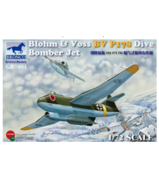 1:72 Blohm & Voss BV P178 Dive Bomber Jet.