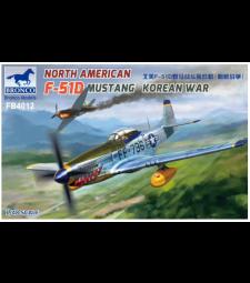 1:48 North American F-51D Mustang Korean War