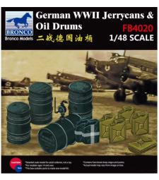 1:48 WWII German Jerry Can & Fuel Drum