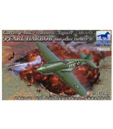 1:48 Curtiss P-40C'Warhawk'Fighter (US Army Air Force)
