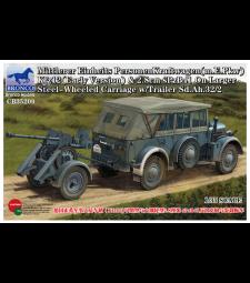 1:35 Mittlerer Einheits PersonenKraftwagen (m.E.Pkw) K fz 12 (Early Version) - German Horch Staff Car (K fz.12)