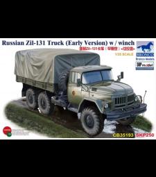 1:35 Russian Zil-131 Truck (Early Version) w / winch