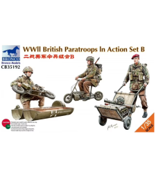 1:35 WWII British Paratroops In Action Set B