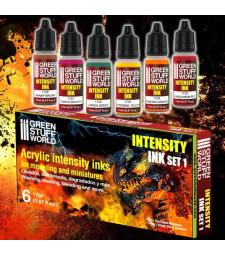 Paint Set - Intensity Ink Acrylic paints - SET 1 (6 x 17 ml)
