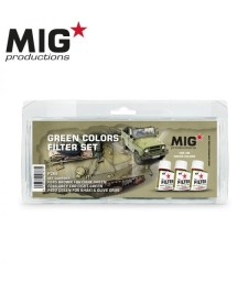 P265 GREEN COLORS FILTER SET (3 x 75 ml)