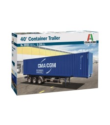 1:24 40' CONTAINER TRAILER