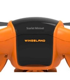 Front panel for Quadcopter Wingsland Scarlet Minivet