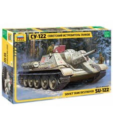 1:35 SU-122 SELF PROPELLED GUN