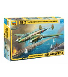 1:72 Soviet dive bomber Petlyakov PE-2