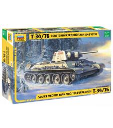 1:35 Soviet Medium Tank T-34/76 MOD.1943 URALMASH