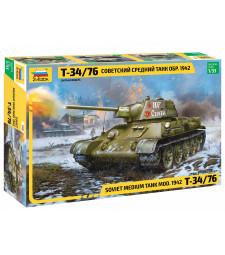 1:35 Soviet medium tank T-34/76 mod. 1942