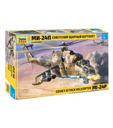 1:48 MIL MI-24P RUSSIAN ATTACK HELICOPTER