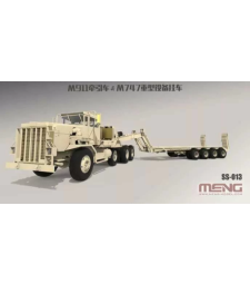 1:35 U.S. M911 C-HET (8X6) & M747 Heavy Equipment Semi-Trailer