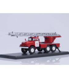 Turntable ladder fire truck, AL-30 (ZIL-131), Vyborg