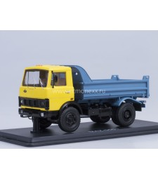 MAZ-5551 dumper truck /yellow-blue/