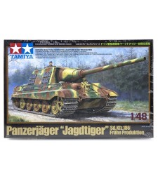 1:48 Sd.Kfz. 186 Jagdtiger German Heavy Tank Destroyer Jagdtiger Early Production