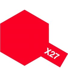 X-27 Clear Red - Acrylic Paint (Gloss) 23 ml