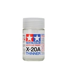 X-20A Acrylic Thinner TAMIYA (46ml)