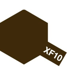 XF-10 Flat Brown - Acrylic Paint (Flatt) 23 ml