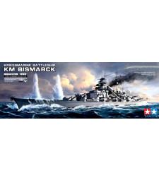 1:350 German Battleship Bismarck