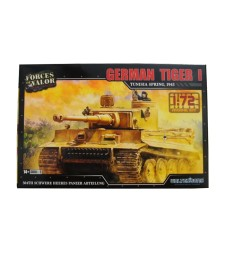 1:72 TIGER I GERMAN MODEL KITS TUNESIA, SPRING 1943