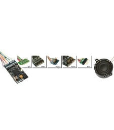 "LokSound V4.0 ""Universal sound for reprogramming"", 6-pin NEM651, Gauge: 0, H0"