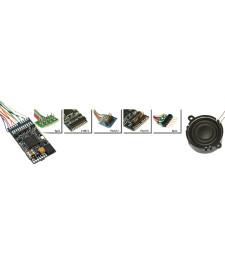 "LokSound V4.0 ""Universal sound for reprogramming"", 6-pin NEM651, Gauge: 0, H0"
