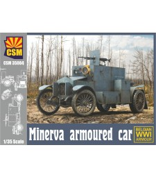 1:35 Minerva Armoured car with Belgian version
