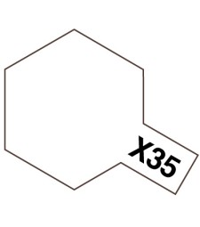 X-35 Semi Gloss Clear - Acrylic Paint Mini ( Semi Gloss) 10 ml