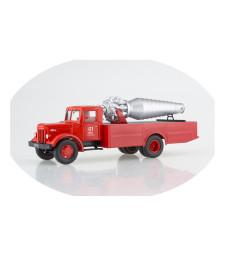 Fire engine AGVT-200 (MAZ-200)