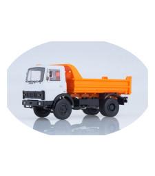 MAZ-5551 dump truck (old version) /white-orange/