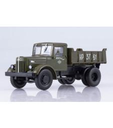 MAZ-205 dump truck /khaki/