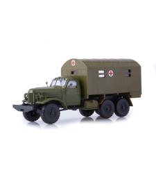 ZiL-157 kung-1M, military ambulance /khaki/