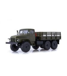 URAL-375D flatbed truck /khaki/