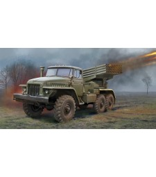 1:35 Russian BM-21 Grad Multiple Rocket Launcher