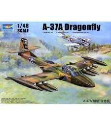 1:48 US-A-37A Drangonfly Light Ground-Attack Aircraft