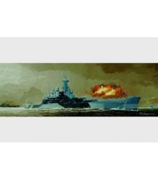 1:350 USS BB-55 North Carolina battleship