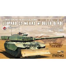 1:35 Leopard C2 Mexas w/ Dozer Blade