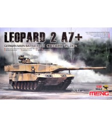 1:35 German Main Battle Tank Leopard 2 A7+