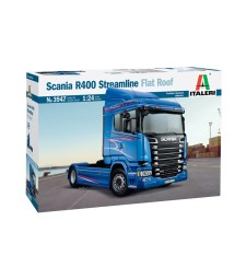 1:24 SCANIA R400 STREAMLINE (Flat Roof)