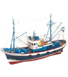 1:50 Marina II Diesel Boat- Wooden Model Ship Kit