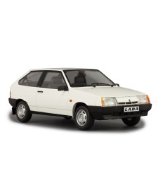 LADA 2108 SAMARA, 1989 - LIMITED EDITION 250 PCS. - WHITE WITH GREY INTERIOR