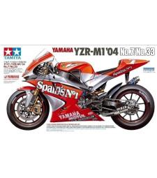 1:12 Yamaha YZR-M1'04No.7/No.33