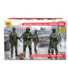 1:35 Modern Russian Infantry - 4 figures