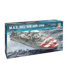1:35 MAS 568 4a Serie with Crew